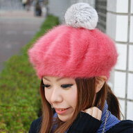 リッチアンゴラファーベレー帽