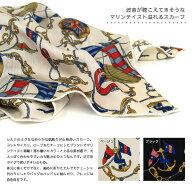 マリンモチーフスカーフ