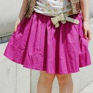 ツイルフレアミニスカート