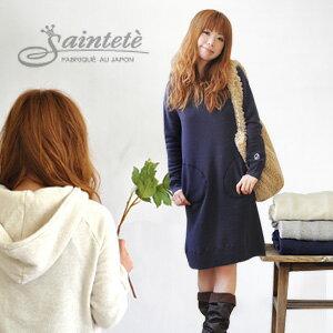 デザインからお願いした当店だけの別注Saintete♪1枚でシンプルな着こなし推奨!上質なフレンチ...