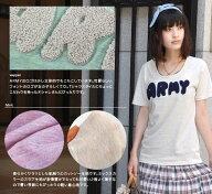 もこもこARMYミックススラブTシャツ