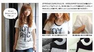 アルファベットナンバーLAドレスTシャツ