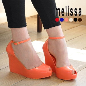 Beauty leg effect: 30574 thick bottom SP AD rubber importing shoes shoes patchouli women's fashion store Rakuten ◆ melissa (Melissa officinalis): unclestrapwedgsawl rubber pumps [PATCHULI]