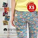 BettySmithのレギパン新作は待望の小花柄!XS/S/M/Lの4サイズ展開、ストレッチの効いたプチプラ...