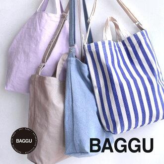 Unisex shoulder bags shoulder bag cotton canvas material. In the bag: ladies mens skosh bag also tote bag parent-child pair A4 commuter school cloth canvas large duck bag ◆ BAGGU (baguu):DUCK BAG