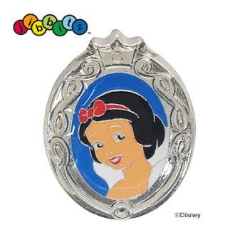 """代表的迪士尼電影""""白雪公主和七個小矮人的雪公主 Jibbitz 公主迪士尼 Crocs 配件動畫雪白色 (crocs) ◆ 鱷魚 jibbitz 雪白色 [可金屬] 的故事"""