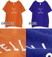 HELLO&BONJOURロゴTシャツ