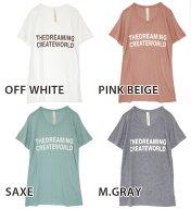 THEDREAMINGCREATEWORLDTシャツ
