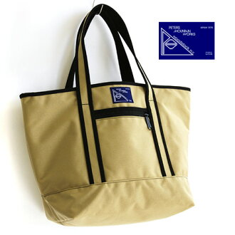 Extra large great lightness and strength Cordura nylon tote bag. Smart commute to school outdoors travel gender unisex bag bag ORIGINAL MED bag Tote ◆ PETERS MOUNTAIN WORKS (petersmountainworks) WTP [9003]