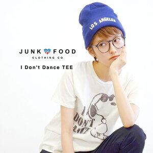 セレブにも愛されるアメリカ発ブランドJunkFoodのTシャツ。古き良き時代を思い起こさせるヴィン...