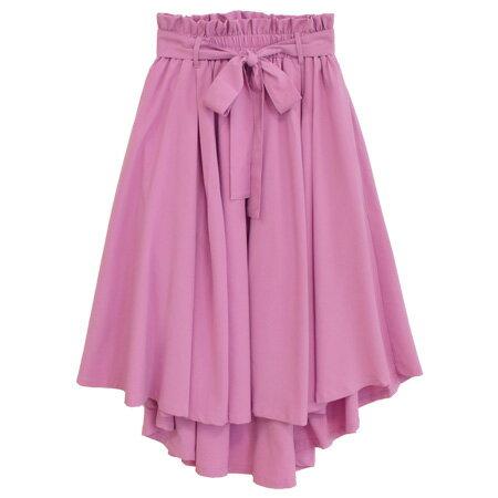 ウエストギャザーリボン フィッシュテールスカート(商品画像)