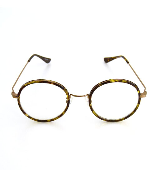 a5563b5b0f0b Classic large grain perfectly round Date glasses. Stylish girl required  item Megane ...