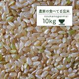 米 10kg 送料無料 玄米食 調整済 【30年産 農家の食べているおいしい玄米10kg】オリジナル 10キロ