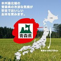 青森県産つがるロマン白米