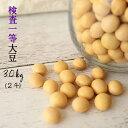 大豆 30kg 送料無料 国産【1年産 青森県産 おおすず検査一等大豆 30kg】(2斗)