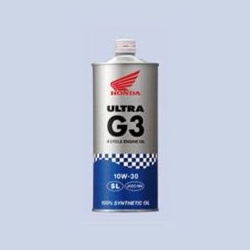 ☆☆4Tエンジンオイル大特価販売中☆☆【HONDA】ウルトラ G3 10W-30 1L(2178678)