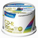 Verbatim 三菱化学メディアCD-RX48WPBL50枚 SR80FP50V2(2314022)通常送料1万円未満