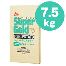 森乳スーパーゴールドフィッシュ&ポテトシニアライト8kg【送料無料】