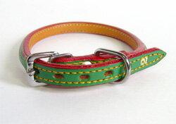 瀬川製作所 1949年型本革首輪サイズ4号:首廻り31cmから39cm【標準的な柴犬オスの成犬サイズで...