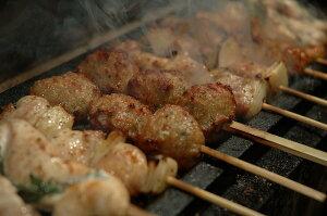 満腹セット(紀州うめどりの焼鳥5種類)