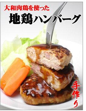 【鶏肉】【再登場!】大和肉鶏使用!地鶏ハンバーグ【RCP】