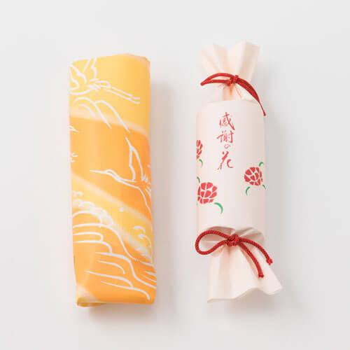 プリザーブドセット「鶴屋吉信 感謝の花」 和菓子 羊羹 プレゼント 2019 【母の日フラワーギフト】