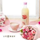 母の日 花束セット「古町糀製造所 バラ・糀の甘酒」 ギフト ...