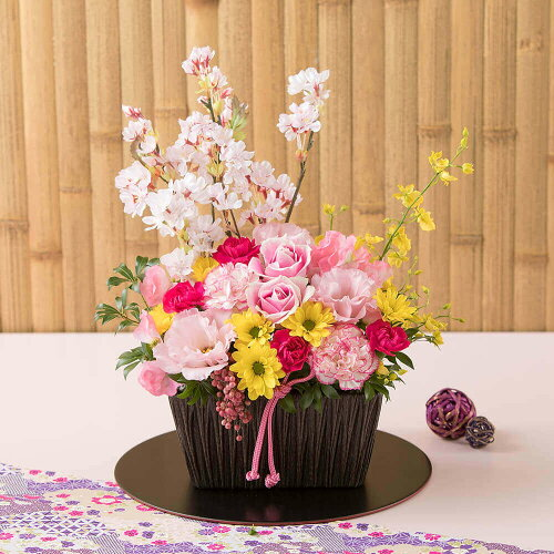 アレンジメント「春爛漫〜桜の下〜」