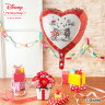 【ディズニーフラワーギフト】【アレンジメント】「ぷわぷわバルーン〜仲良しミッキー&ミニー〜」