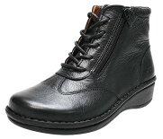 【定番】サイドゴアのショートブーツ|No.10725◆健康靴/健康シューズなのにオシャレな靴/楽な靴【10P03Sep16】