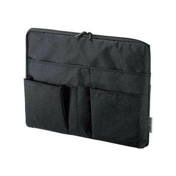 【送料無料】整理収納バッグインバッグ(横型) IN-GHBB2BK 【服飾雑貨 レビュー投稿で次回使える2000円クーポン全員にプレゼントバッグ】