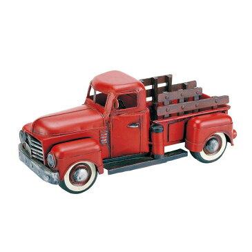 10000円以上送料無料 アンティークオブジェ ブリキのおもちゃ(pickup red) 27172 【インテリア レビュー投稿で次回使える2000円クーポン全員にプレゼントその他インテリア】