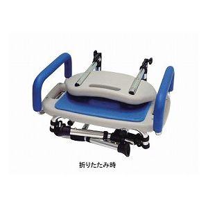 直送アクションジャパン折りたたみ式シャワーチェア座面角型タイプ/FY9991ダイエット・健康健康器具介護用品