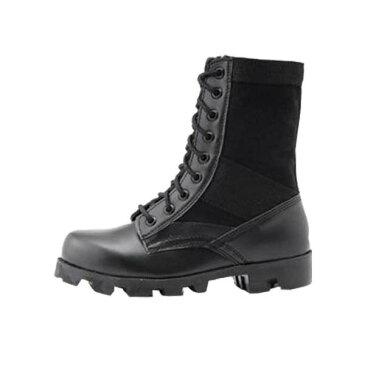 5000円以上送料無料 米軍 ジャングルブーツレプリカ ブラック 10W(29.0-29.5cm) ホビー・エトセトラ ミリタリー ブーツ・靴 レビュー投稿で次回使える2000円クーポン全員にプレゼント