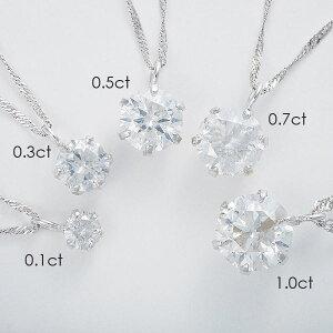 直送K18WG0.1ctダイヤモンドペンダントスクリューチェーン(鑑定書付き)