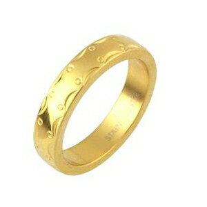 ステンレスリング アラベスク模様 ゴールドカラー 9号 ファッション リング・指輪 その他のリング・指輪 レビュー投稿で次回使える2000円クーポン全員にプレゼント