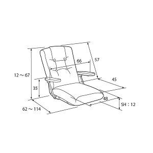 レビューで次回2000円オフ直送ポンプ肘式座椅子ブラウンYS-1075D【】生活用品・インテリア・雑貨インテリア・家具座椅子