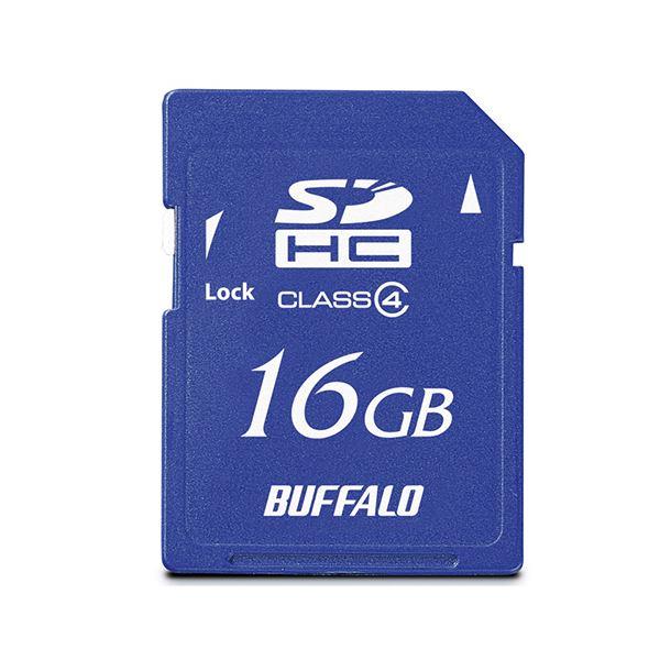 10000円以上送料無料 (まとめ)バッファロー SDHCカード 16GBClass4 RSDC-S16GC4B 1枚【×2セット】 AV・デジモノ パソコン・周辺機器 USBメモリ・SDカード・メモリカード・フラッシュ SDカード レビュー投稿で次回使える2000円クーポン全員にプレゼント