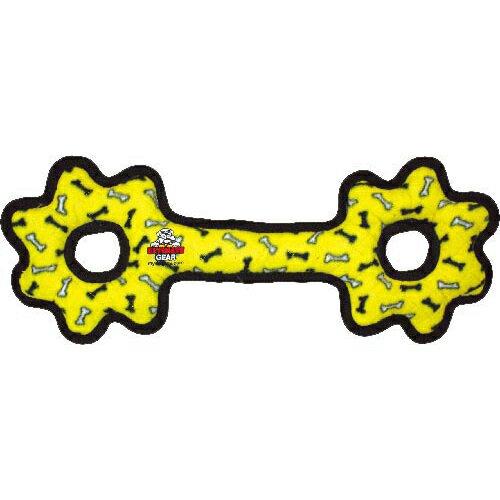 ペット用品 犬用品(グッズ) 犬用おもちゃ・玩具(犬・遊) タフィ タグオーギア レギュラー イエロー