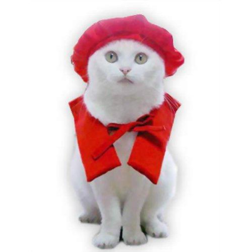 ペット用品 猫用品(グッズ) 猫用衣類・アクセサリー ビバ還暦だにゃん