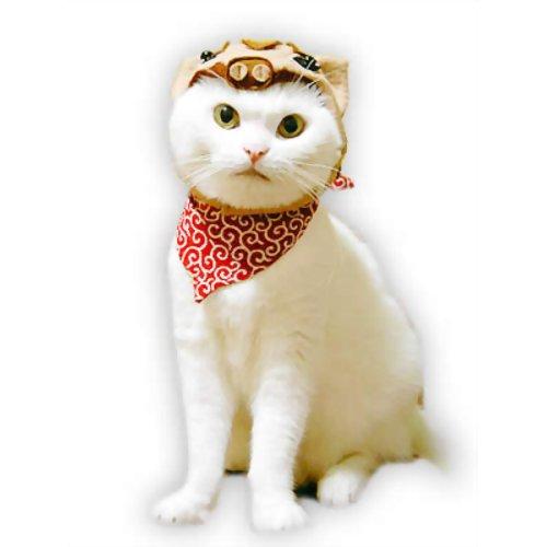 ペット用品 猫用品(グッズ) 猫用衣類・アクセサリー ラッキー 走れ猪トンちゃん