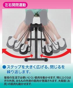 レビューで次回2000円オフ直送折りたたみフィットネスマシン/アクティブライダー(アシスト運動器具)スチール製ダイエット・健康健康器具その他の健康器具