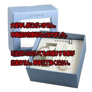 レビュー投稿で次回使える2000円クーポン全員にプレゼント直送スカーゲンSKAGENクオーツレディース腕時計ネックレスギフトセットSKW1069【腕時計海外インポート品】