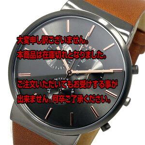 レビュー投稿で次回使える2000円クーポン全員にプレゼント直送スカーゲンSKAGENクオーツメンズ腕時計SKW6106グレー【腕時計海外インポート品】