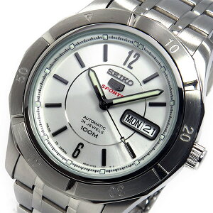 レビュー投稿で次回使える2000円クーポン全員にプレゼント直送セイコーSEIKO自動巻きメンズ腕時計SRP295J1シルバー【腕時計海外インポート品】