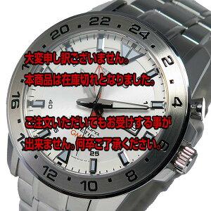 レビュー投稿で次回使える2000円クーポン全員にプレゼント直送セイコースポーチュラキネティッククオーツメンズ腕時計SUN025P1ホワイト【腕時計海外インポート品】