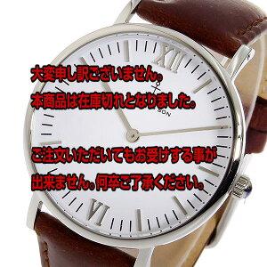 レビュー投稿で次回使える2000円クーポン全員にプレゼント直送キャプテン&サンKAPTEN&SON36mmクオーツレディース腕時計SV-KS36WHBRLホワイト/シルバー【腕時計海外インポート品】