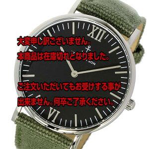 レビュー投稿で次回使える2000円クーポン全員にプレゼント直送キャプテン&サンKAPTEN&SON40mmブラック/オリーブキャンバスレディース腕時計SV-KS40BOC【腕時計海外インポート品】
