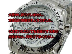 レビュー投稿で次回使える2000円クーポン全員にプレゼント直送サルバトーレマーラクオーツメンズクロノ腕時計SM13108-SSWH【腕時計低価格帯ウォッチ】