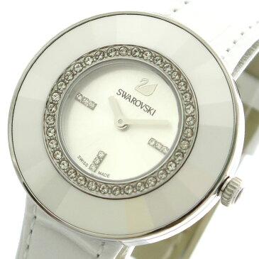 10000円以上送料無料 スワロフスキー SWAROVSKI 腕時計 レディース 5080504 クォーツ シルバー ホワイト 【腕時計 ハイブランド】 レビュー投稿で次回使える2000円クーポン全員にプレゼント